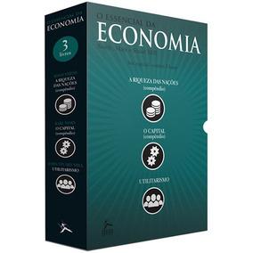 Box 3 Livros O Essencial Da Economia Capital Utilitarismo