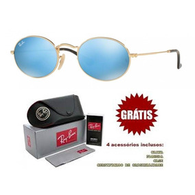 34b5fe9fa17b1 Oculos De Sol Ray Ban Redondo Espelhado - Óculos no Mercado Livre Brasil