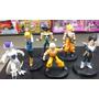 Muñecos Dragon Ball Goku Freezer Androide 18 - 6 Gashapones