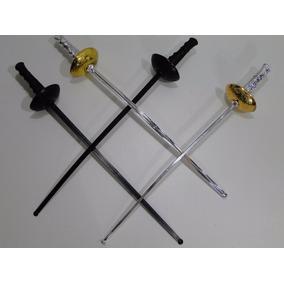04 Espada 60cm Zorro Mosqueteiro Pirata Cavaleiro Romano