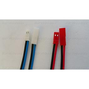 Conector Plug Jst 1 Par (1 Macho + 1 Fêmea) C/ Cabos 15cm