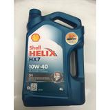 Cambio De Aceite A Domicilio Shell Hx7 10w/40 Filtro Aceite