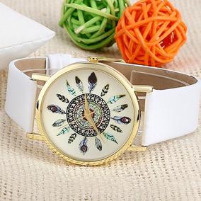 Relógios De Pulso Quartzo Pulseira De Couro Relógios Muger