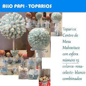 Centro De Mesa Con Golosinas Souvenirs Candy Para Chicos N13