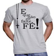 Camiseta Camisas Religiosas Variadas Frete Barato Kit 3 Unid