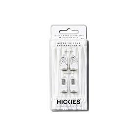 Agujetas Elásticas Hickies Blancas - Pack De 14 Unidades