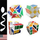 4 Cubos Rubik Magico - Fluctuation, Wheel, Mirror, Square.