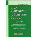 Ley De Concursos Y Quiebras Comentada - Osmar Buyatti Dyf