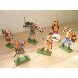 Set Soldados Vikingos Pintados A Mano Zona Sur Y Caba