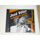 Jose Velez 20 Grandes Exitos Cd Nuevo Sellado