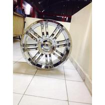 Rin Motor Sport 22x9.5, 5x135 Cromado