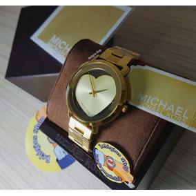 a87cd204ed5cf Relogio Michael Kors Coração - Relógios De Pulso no Mercado Livre Brasil