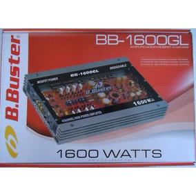 Módulo Amplificador B. Buster Bb1600gl 4 Canais (novo)
