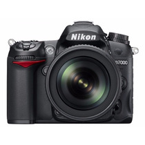 Camera Nikon D7000 Lente 18 105mm Nova Na Caixa Com Nfe