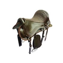 Sela Australiana Barata Couro Legítimo Cavalo Mangalarga