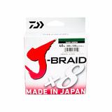 Linha Daiwa Multifilamento J-braid 15/20lb 300 Mts