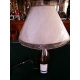 Lampara De Mesa O Bar Botella Martin Codax Nueva 50 X 30cm