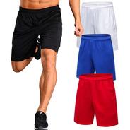 Shorts Hombre Deportivos Gimnasio Futbol Running Pantalon