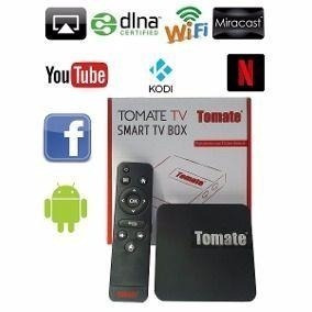 Smart Tv Box Tomate 1gb Ram 8gb Hd Wi-fi Android Mcd-118