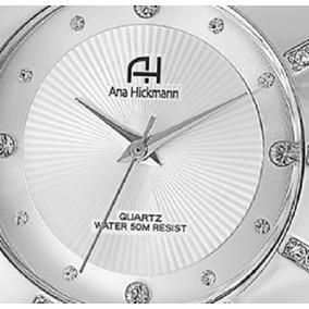 Relógio Feminino Prata Original Ana Hickmann