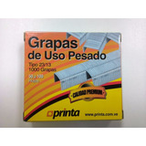 Grapas Industriales 23/13 50 A 100 Hojas Printa 1000 Grapas