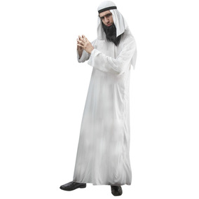 Disfraz Arabe Jalal Tunica Hombre Talla M/l Halloween