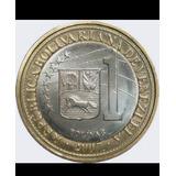 Moneda De 1 Bsf 2007