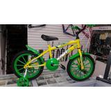 Bicicleta Aro 16 Infantil Para Crianças De 5/6 Anos Nova.