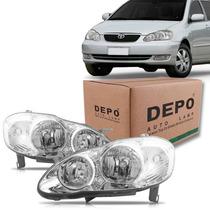 Par Farol Toyota Corolla 2005 2006 2007 2008 Depo