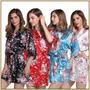 Kimono Floral Robe Japones Nouvelle Passion C339