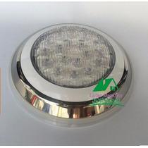01 Peça Luminária De Piscina- Luz Rgb 15w Super Led