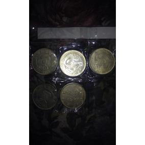 5 Monedas Chinas 1861-1908