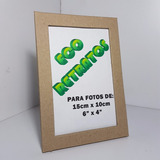 Docena Portaretrato Ecológico Postal Sin Pintar Envio Gratis