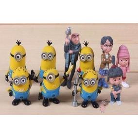 Mi Villano Favorito Figuras De Accion Set 10 Piezas Minions