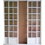 Porta Balcão Quadriculada L Sp 20/ 210x200