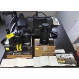 Nikon D3400, Dos Lentes, Cargador, Mochila Y Control Remoto!
