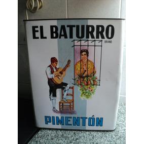 Antigua Gran Lata Pimenton El Baturro España 10kgs