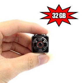 Micro Cameras Espia Material Espionagem Spy Espiao Mini 32gb