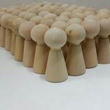 Pegs Doll Figuras Y Muñecas De Madera X Unidad