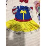 Disfraz Blancanieves Original Disney Bebe 3-6 Meses