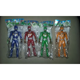 Power Rangers. Medianos C/luz Partes Moviles Oferta Niños