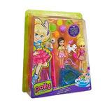 Mattel Polly Pocket Muñeca Pet Playtime Juego Con Mascotas