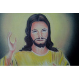 Pintura Em Tela Jesus Misericordioso Arte Quadro