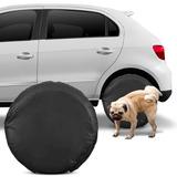Capa Roda Pneu Protetora Anti Xixi Cachorro 100% Impermeável
