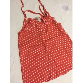 df50c036d Camisa Roja A Lunares Blancos - Ropa y Accesorios para Niñas en ...