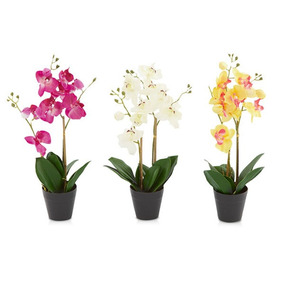 Orquídea Artificial 40 Cm Phalenopsis
