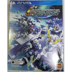 Sd Gundam G Generation Genesis Psvita - Minibox E No Brasil