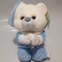 Pelúcia Urso Que Reza - Fizzy - Rosa / Azul
