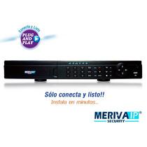 Meriva Nvr Cip 4ch Video Meriva Mnvr-304 4-poe Full720p 2dd
