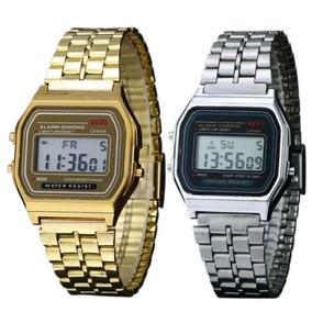 Reloj Dorado Y Plateado
